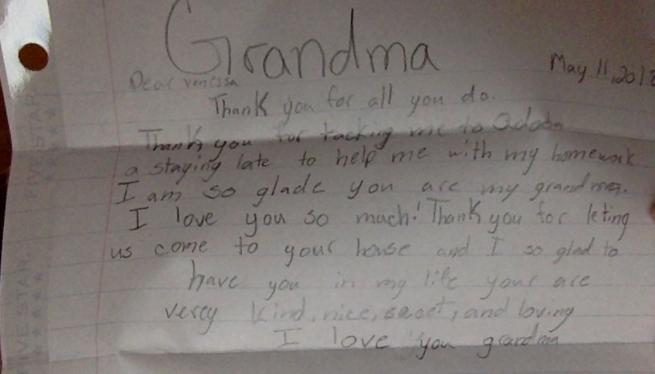 Dakota's letter 3